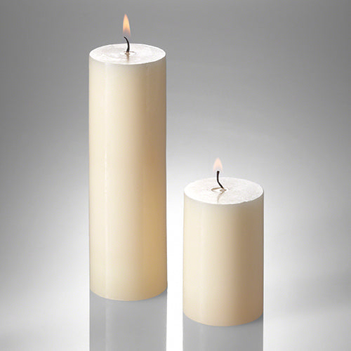 richland pillar candles 2 x 3 2 x 6 set of 40