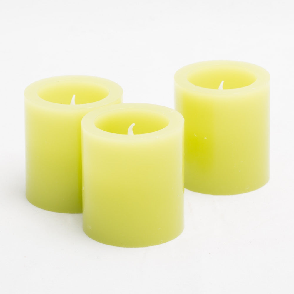 richland led votive candles green set of 12