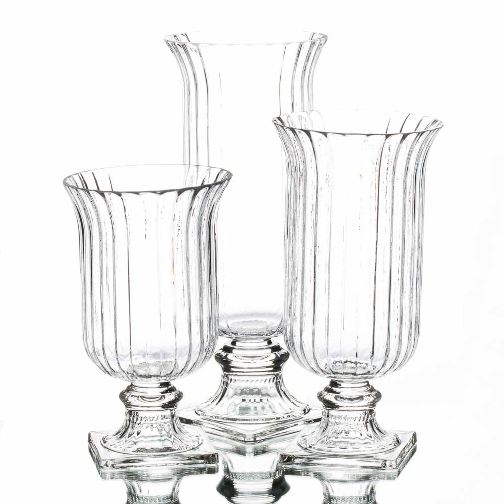 Richland Calhoun Hurricane Pedestal Set of 3