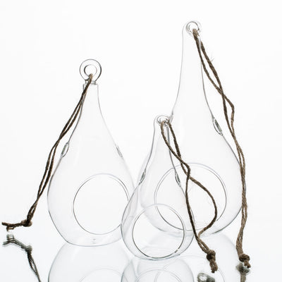 Richland Teardrop Hanging Holder – Small Set of 24