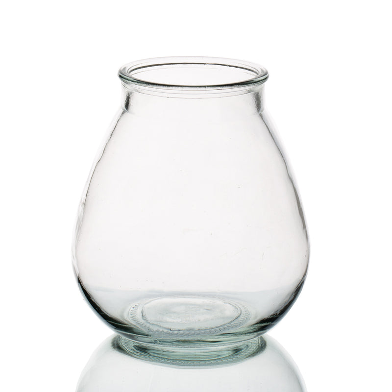 Halcyone Vintage Glass Vase Set of 8
