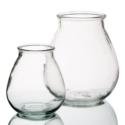 halcyone vintage glass vase small set of 12