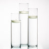 Eastland Tall Cylinder Vases with Richland Floating Candles Set of 18