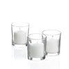 votive candles holders set 12