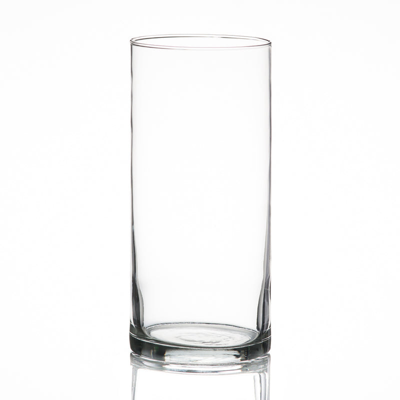"Eastland Cylinder Vase 3.25""x7.5"" Set of 12"