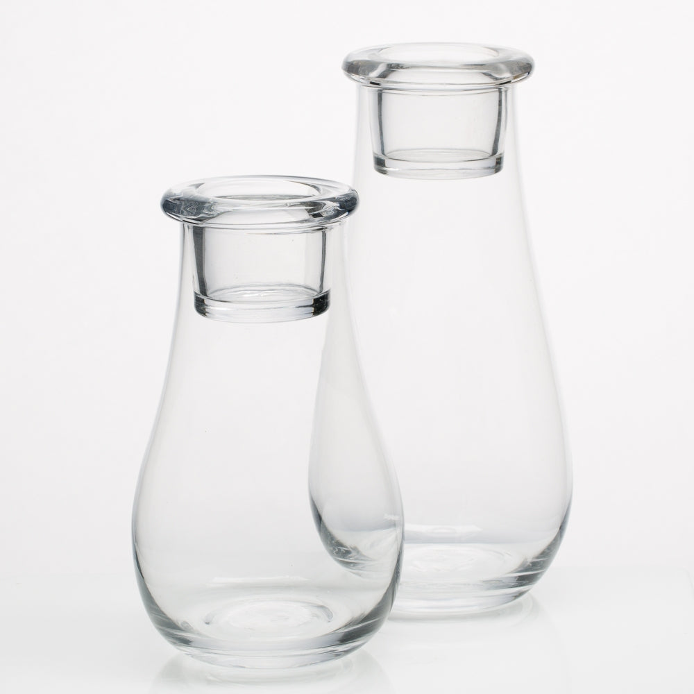 Richland Teardrop Vase & Tealight  Holder Set of 2