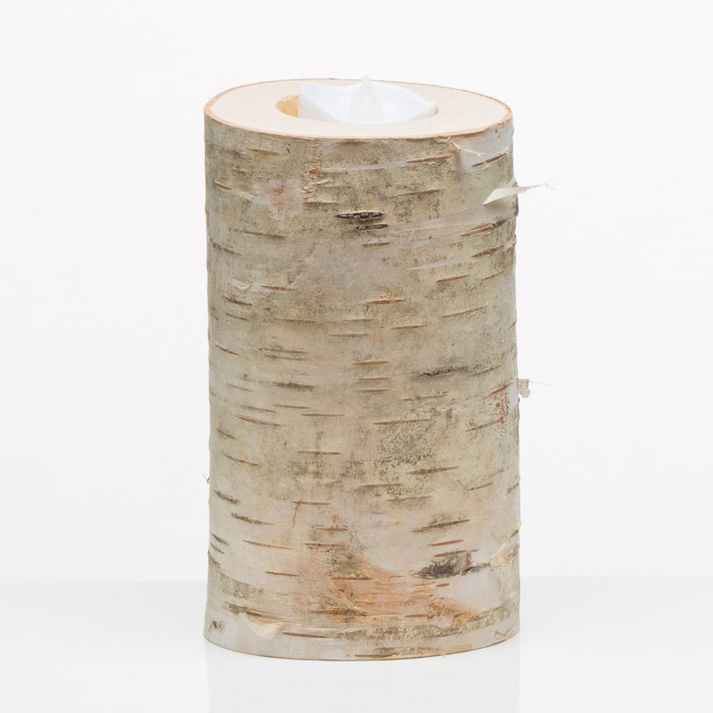 "6"" Natural Birch Tree Branch Candle Holders"