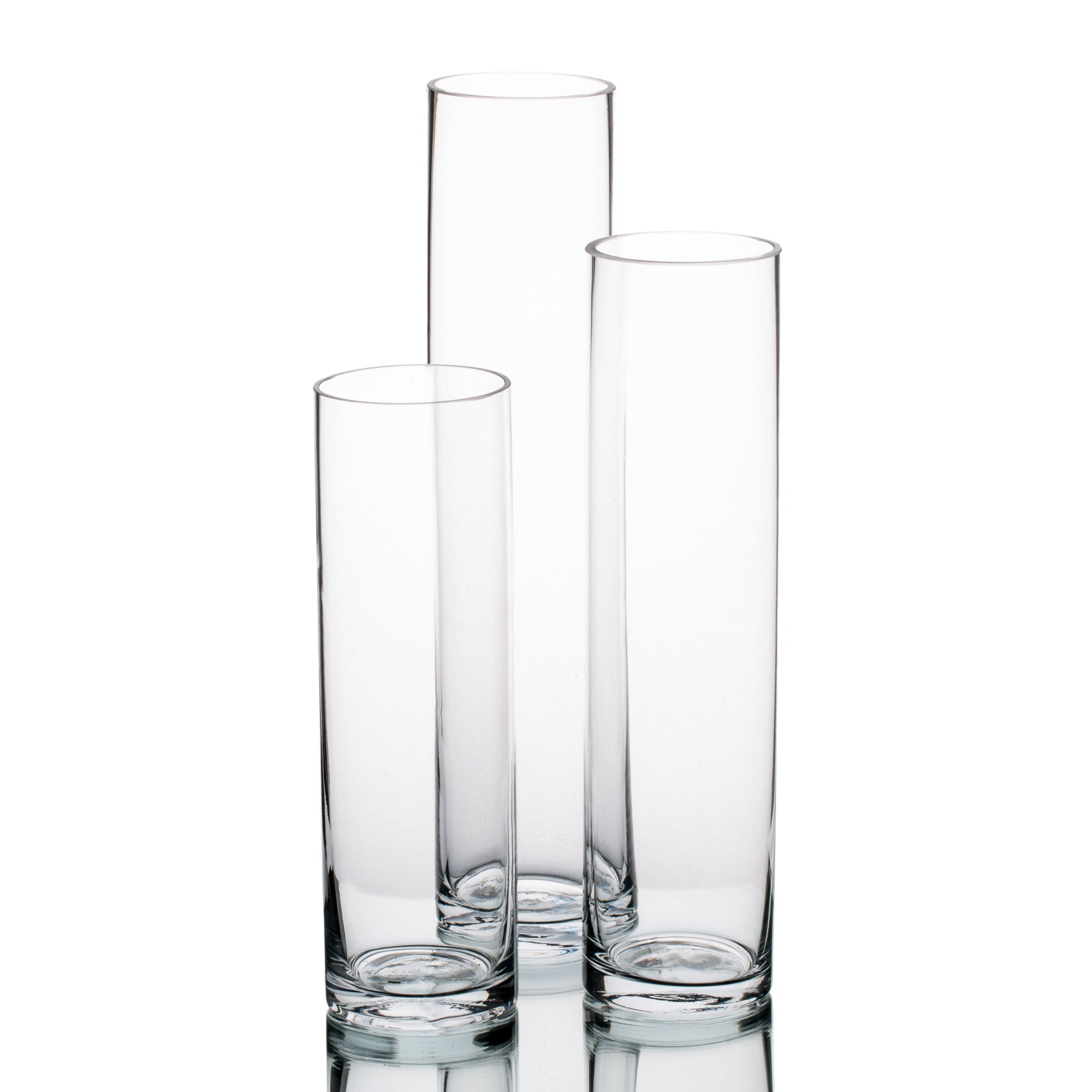 richland sloan cylinder vase 9 75 11 75 13 75 set of 3
