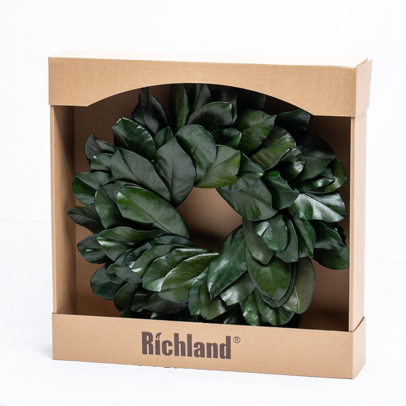 Richland Preserved Magnolia Wreath 17""