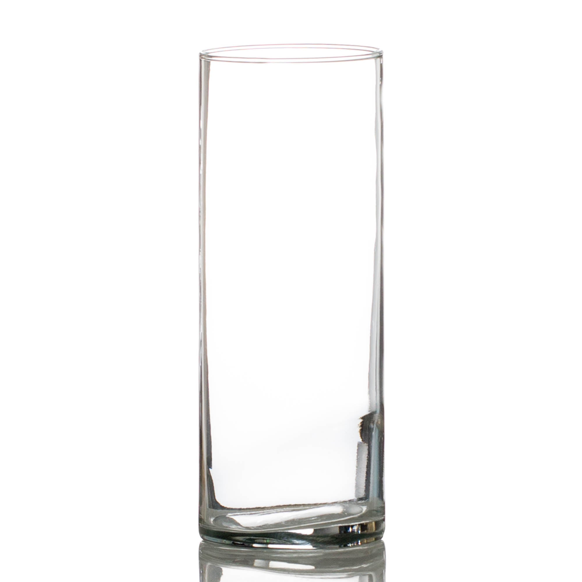 "Eastland Cylinder Vase 3.25""x9"" Set of 12"
