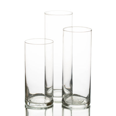 eastland cylinder floating candle holders 6 7 5 10 5 set of 36