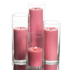 richland pillar candles eastland cylinder holders set of 48