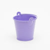"Richland 2"" Iron Favor Bucket, Purple Set of 25"