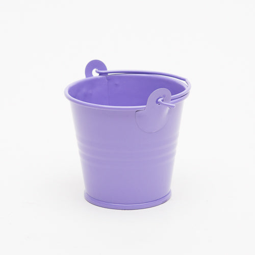 "Richland 2"" Iron Favor Bucket, Purple Set of 100"