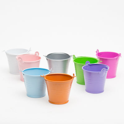 richland 2 iron favor bucket fuchsia set of 25
