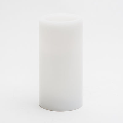 "Richland Flameless LED Pillar Candle 3""x6"" White"
