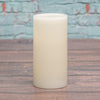 "Richland Flameless LED Pillar Candles 3""x6"" Ivory Set of 6"