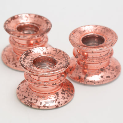 richland athena taper candle holder rose gold set of 144