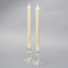 "Richland Ivory LED Taper Candles 9.75"" Set of 2"