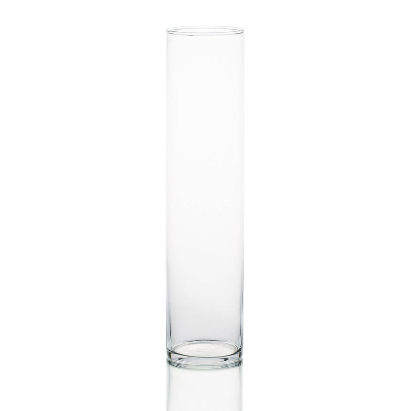 "Eastland Tall Cylinder Vase 4""x17"" Set of 6"