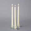 "Richland Taper Candles 10"" Ivory Set of 50"