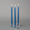 "Richland Taper Candles 10"" Navy Blue Set of 10"
