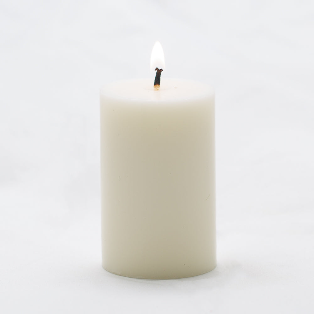 richland pillar candle 2 x3 light ivory set of 40