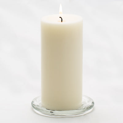 richland pillar candle 3 x6 light ivory set of 12