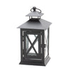Richland Noble Lantern Black Metal 7""