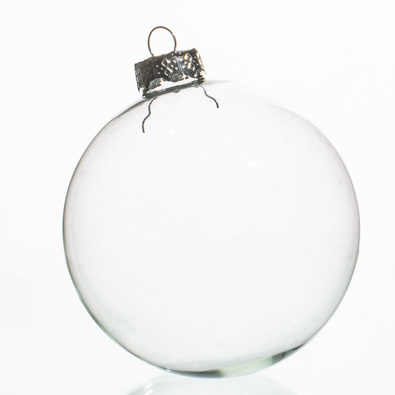 "Richland Glass Ornaments 4"" Set of 12"