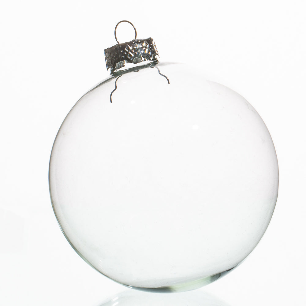 "Richland Glass Ornaments 4"" Set of 4"