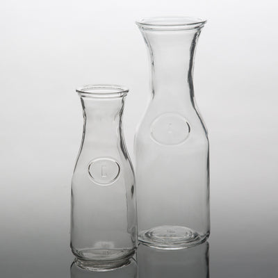"Richland 8"" Milk Bottle Vase Set of 6"