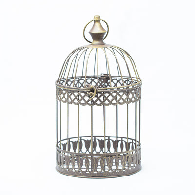 Richland Sudie Bird Cage - Dusted Brass Set of 3