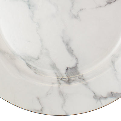 "Richland Plain Charger Plate 13"" Marble Set of 24"
