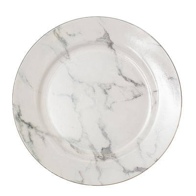 "Richland Plain Charger Plate 13"" Marble"