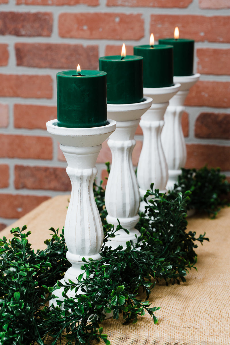 "Richland Sadie Pillar Candle Holder 11"" Set of 12"