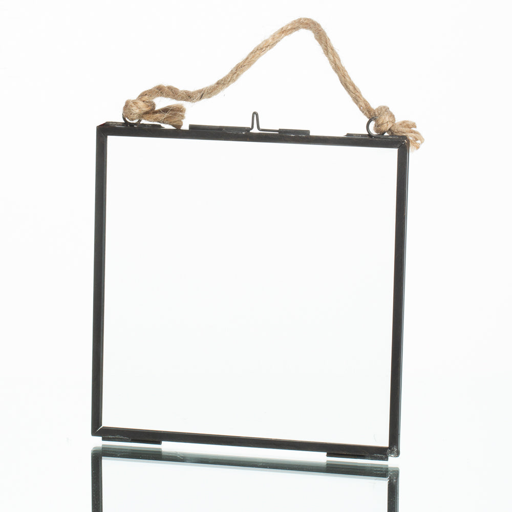 richland metal hanging photo frame 6 x 6 25