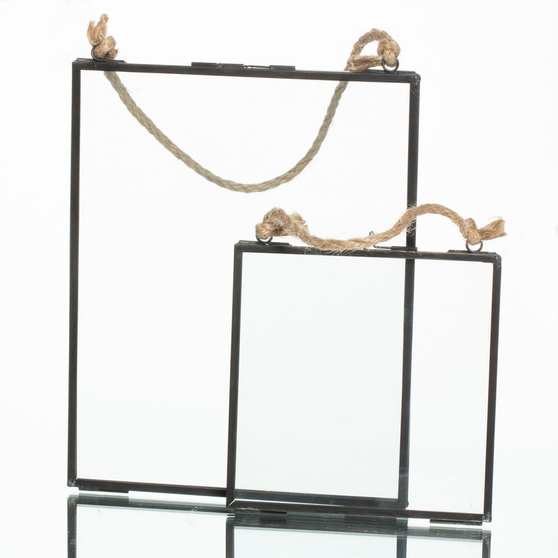 Richland Metal Hanging Photo Frame Set of 2