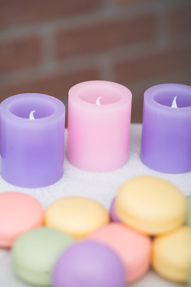 Richland LED Votive Candles Lavender Set of 12
