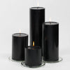 "Richland 4"" x 4"" Black Pillar Candle"