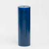 "Richland 4"" x 12"" Navy Blue Pillar Candle"