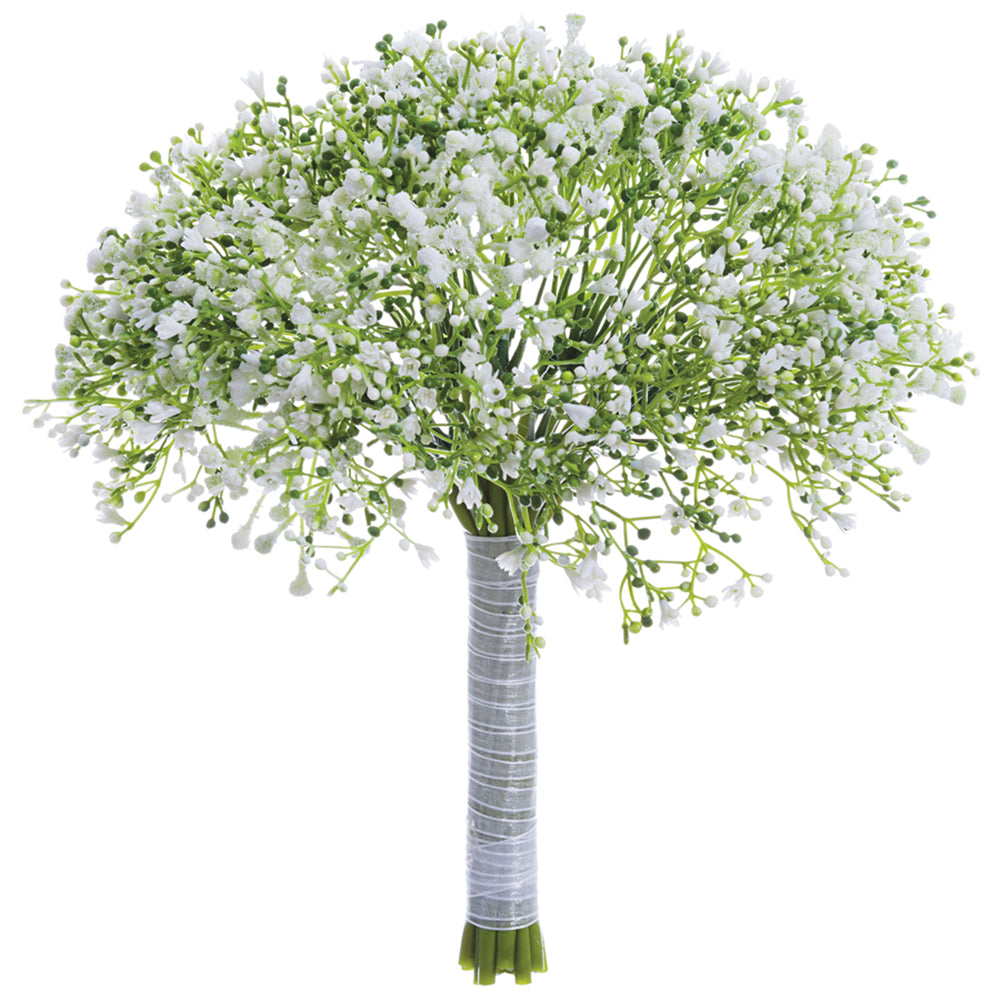 Richland Gypsophilia Baby's Breath Bouquet White 10""