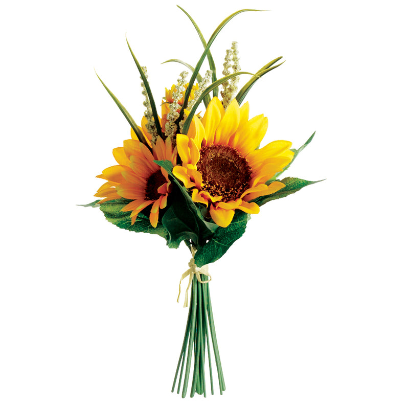 Richland Sunflower Bouquet Yellow 11""
