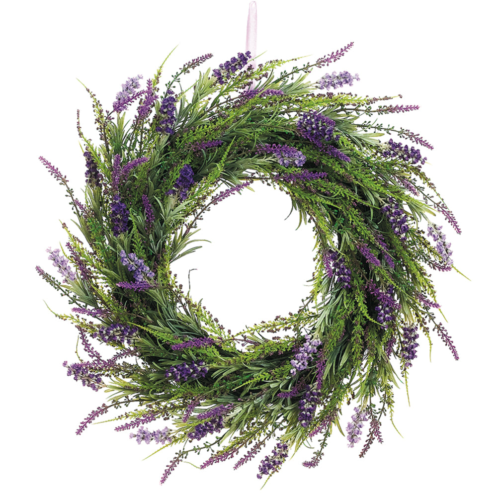 Richland Lavender Twig Wreath 20""