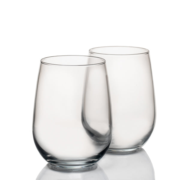 Eastland Premium Stemless Wine Glass Set of 4