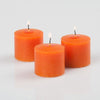 Richland Votive Candles Unscented Orange 10 Hour Set of 12