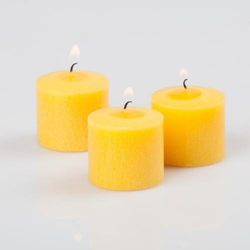 Richland Votive Candles Unscented Yellow 10 Hour Set of 288
