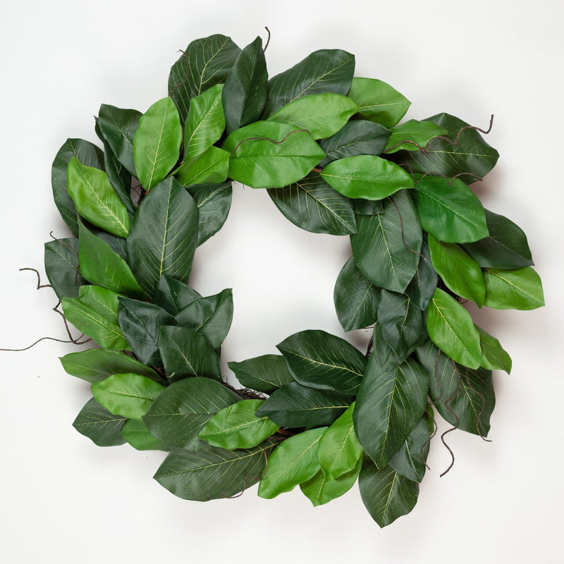 Richland Mountain Magnolia Wreath 24""