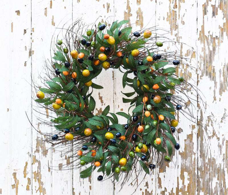 Richland Tuscan Olive Wreath 24""