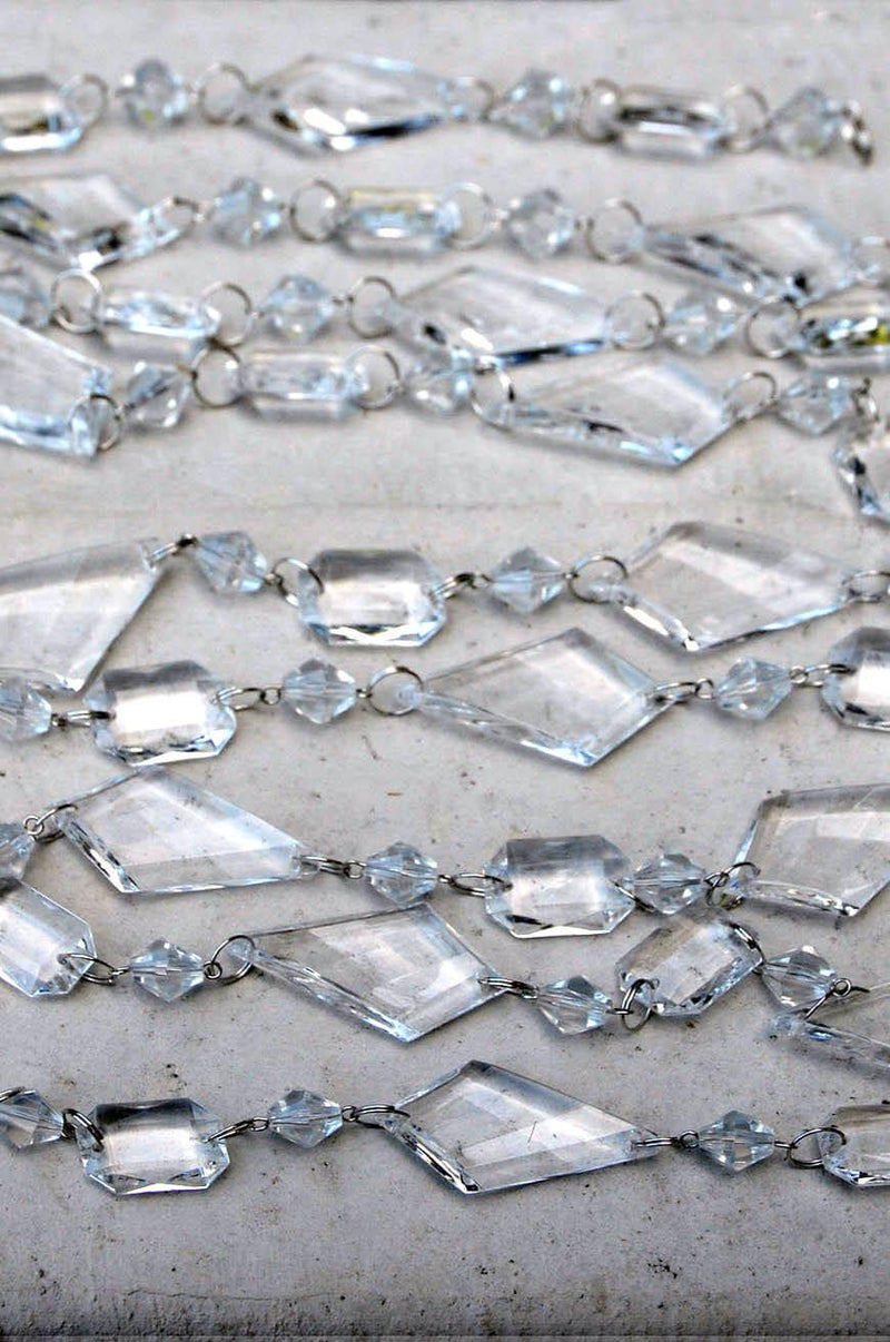 Acrylic Crystal Garland 6ft